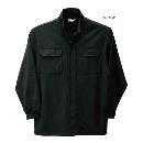 254 鳳皇裏綿立衿シャツ 20ブラック L