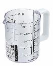 EasyWash食洗機対応 耐熱計量カップ 500mL