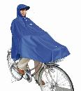 自転車屋さんのポンチョ(ブルー)