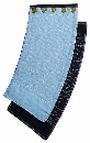 強力 藍染め手甲5枚 白刺し 大