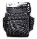 侍ブラック 小型電工腰袋2段 SRB01