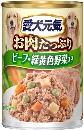 愛犬元気 缶 ビーフ&緑黄色野菜 375g