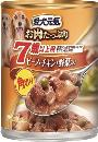 愛犬元気 缶 7歳ビーフ&チキン野菜 375g