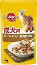 P105 成犬ビーフチキン野菜 130g
