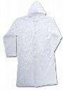 #1222 ポケットコート クリヤー 110cm