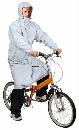 CY−002 2WAYサイクルコート シルバー L
