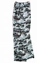 2218 迷彩パンツ グレー L