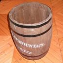 P112 DB コーヒー樽 約直径30x高40cm