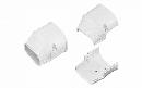 因幡電工 配管化粧カバー(端末) 機器接続部用 ホワイト SEN-100-W