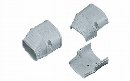 因幡電工 配管化粧カバー 端末カバー 機器接続部用 グレー SEN-100-G