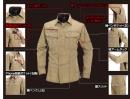 バートル 6103 長袖シャツ ネイビー S