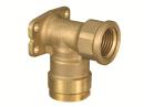 WL5型 座付水栓エルボ Rp1/2×13A