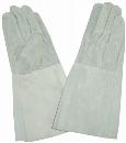 床革溶接用袖長手袋