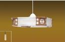 【ロイサポート用・作業費別・処分費別】タキズミ ペンダントライト和風 LEDタイプ RV60063
