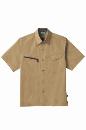 884 半袖シャツ 5キャメル M