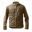 マック 2WAYメッシュジャケット(スリーブレスタイプ) L サンドカーキ