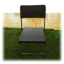 ラタン調ガーデンチェア 約幅54×奥44.5×高80.5cm
