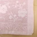国産ジャガードタオルケット テネシー 約140×190cm ピンク