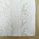 国産ジャガードタオルケット 汐風 約140×190cm ベージュ