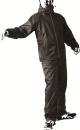 耐久防水レインスーツ レインフィール AS5600RH ブラック LL