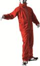 耐久防水レインスーツ レインフィール AS5600RH レッド 4L