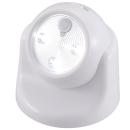 OHM LEDセンサーライト ボール型 白 【乾電池別売】