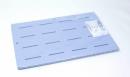 お風呂マット ブルー 約85×奥60×厚2cm