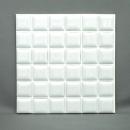 デコレモザイク 150角P ホワイト
