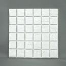 デコレモザイク 150角RN ホワイト(ロマネス)