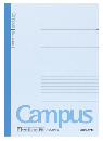 カラーキャンパス 30枚 B罫 ノ−3CBN−B