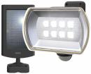 8W ワイド フリーアーム式 LEDソーラーセンサーライト S−80L