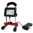 LED投光器 10W 充電式 屋外・屋内用