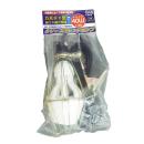 矢田 カボチャ型省エネ蛍光電球 40W クリップ付ハンドライト【口金 E26】