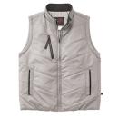 ホシ服装 #938 ウィンターベスト ライトグレー 3L