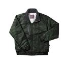 #935 ホシ服装 防寒ジャケット カモフラアーミー LL