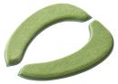 ホイップ便座クッション グリーン WB−201