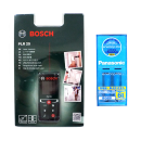 【特別限定商品】 ボッシュレーザー距離計 充電器電池セット PLR25J
