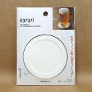 Karari (カラリ) 珪藻土コースター ラウンド ホワイト