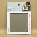 Karari (カラリ) 珪藻土 コースター スクウェア グレー