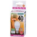 OHM LED電球 40W形 電球色 LDA4L E17