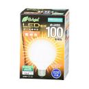 【ロイサポート用・作業費別・処分費別】OHM LEDボール電球 100W形 電球色