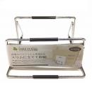珪藻土バスマット&ヘルスメーター用収納スタンド ワイヤースタンド