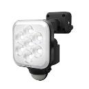 ムサシ 8W×1灯 フリーアーム式 LEDセンサーライト(コンセント式) LED−AC1008
