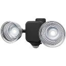 ムサシ 3.5W×2灯 フリーアーム式 センサーライト(乾電池式) LED−265 【電池別売】