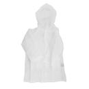 子供レインコート 110cm ホワイト