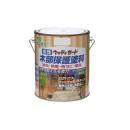 ニッペ 水性ウッディガード 1.6L 【チャコールブラック】