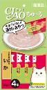 CIAO チャオ ちゅ〜る とりささみ&いか 14g×4本