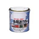 アサヒペン 水性多用途カラー 0.7L 赤