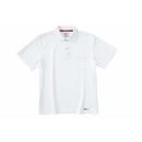 ホシ服装 224 半袖ポロシャツ ホワイト LL
