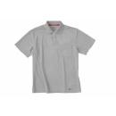 ホシ服装 224 半袖ポロシャツ グレー LL